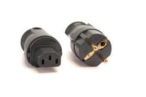 Supra SWF-10 IEC and SW-EU schuko connectors